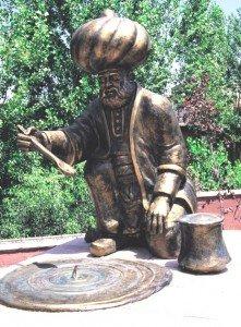 Statue de Nasreddin à Hodja